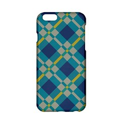 Squares and stripes pattern Apple iPhone 6 Hardshell Case