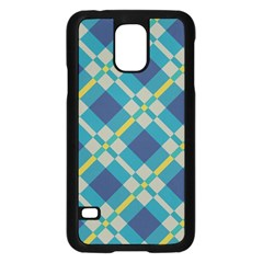 Squares And Stripes Patternsamsung Galaxy S5 Case