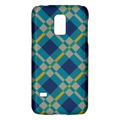 Squares and stripes patternSamsung Galaxy S5 Mini Hardshell Case