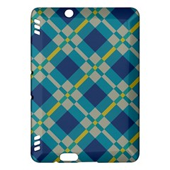 Squares and stripes patternKindle Fire HDX Hardshell Case