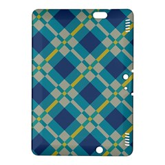 Squares And Stripes Pattern	kindle Fire Hdx 8 9  Hardshell Case
