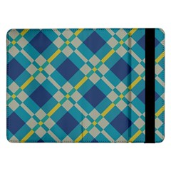 Squares and stripes patternSamsung Galaxy Tab Pro 12.2  Flip Case