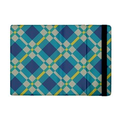 Squares and stripes pattern	Apple iPad Mini 2 Flip Case