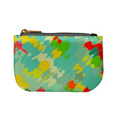 Smudged Shapes Mini Coin Purse