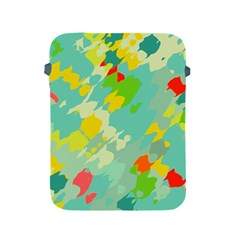 Smudged Shapes Apple Ipad 2/3/4 Protective Soft Case
