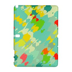Smudged shapes Samsung Galaxy Note 10.1 (P600) Hardshell Case