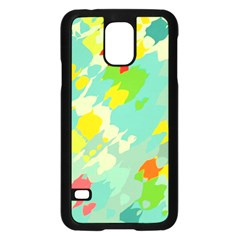 Smudged Shapes	samsung Galaxy S5 Case