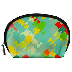 Smudged Shapes Accessory Pouch