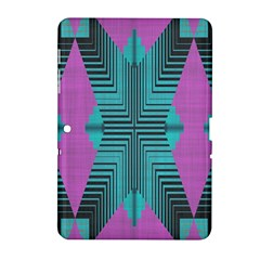 Tribal Purple Rhombus Samsung Galaxy Tab 2 (10 1 ) P5100 Hardshell Case