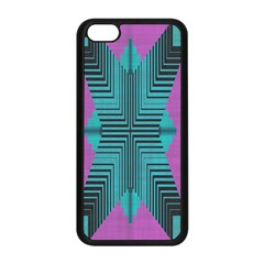 Tribal purple rhombus Apple iPhone 5C Seamless Case (Black)