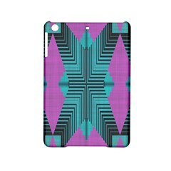 Tribal Purple Rhombus Apple Ipad Mini 2 Hardshell Case