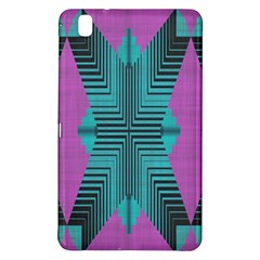 Tribal Purple Rhombus	samsung Galaxy Tab Pro 8 4 Hardshell Case