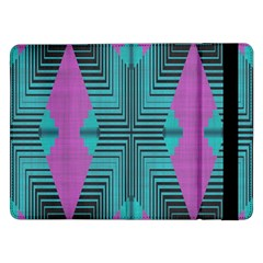 Tribal purple rhombus	Samsung Galaxy Tab Pro 12.2  Flip Case