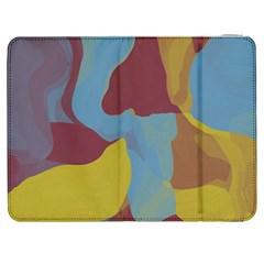 Watercolors Samsung Galaxy Tab 7  P1000 Flip Case