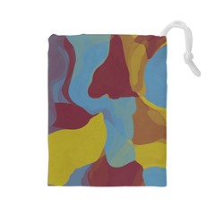Watercolors Drawstring Pouch