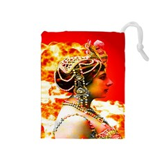 Mata Hari Drawstring Pouch (medium)