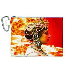 Mata Hari Canvas Cosmetic Bag (XL)