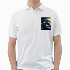 Wasteland Men s Polo Shirt (White)
