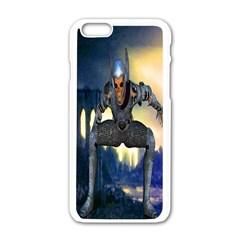 Wasteland Apple iPhone 6 White Enamel Case