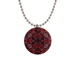 Luxury Ornate Button Necklace