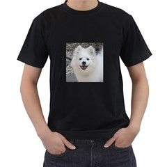 American Eskimo Dog Men s Two Sided T-shirt (Black)