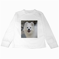 American Eskimo Dog Kids Long Sleeve T-Shirt