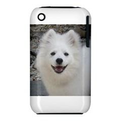 American Eskimo Dog Apple iPhone 3G/3GS Hardshell Case (PC+Silicone)