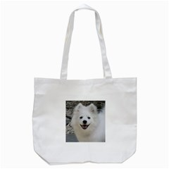 American Eskimo Dog Tote Bag (White)