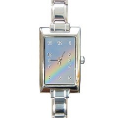 Rainbow Rectangular Italian Charm Watch