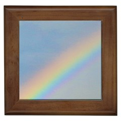 Rainbow Framed Ceramic Tile