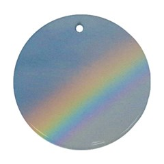 Rainbow Round Ornament