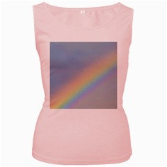 Rainbow Women s Tank Top (Pink)
