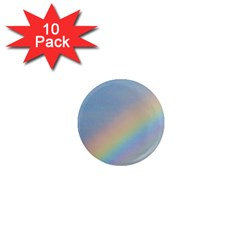 Rainbow 1  Mini Button Magnet (10 pack)