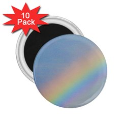 Rainbow 2 25  Button Magnet (10 Pack)