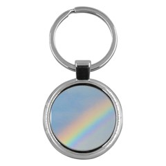 Rainbow Key Chain (round)