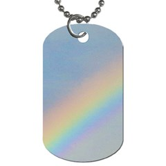 Rainbow Dog Tag (one Sided)