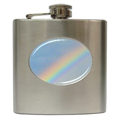 Rainbow Hip Flask