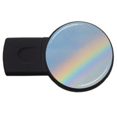 Rainbow 1GB USB Flash Drive (Round)