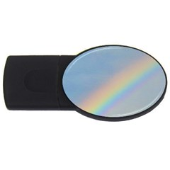 Rainbow 2GB USB Flash Drive (Oval)