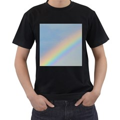 Rainbow Men s Two Sided T Shirt (black)