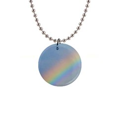 Rainbow Button Necklace