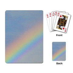 Rainbow Playing Cards Single Design