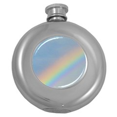 Rainbow Hip Flask (Round)
