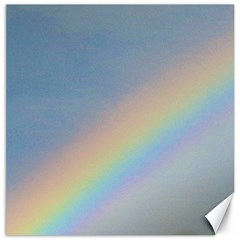 Rainbow Canvas 16  x 16  (Unframed)