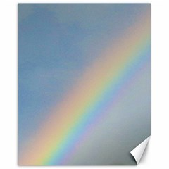 Rainbow Canvas 16  X 20  (unframed)