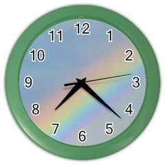 Rainbow Wall Clock (color)