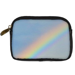 Rainbow Digital Camera Leather Case