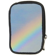 Rainbow Compact Camera Leather Case