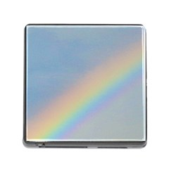 Rainbow Memory Card Reader With Storage (square)
