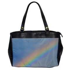 Rainbow Oversize Office Handbag (One Side)